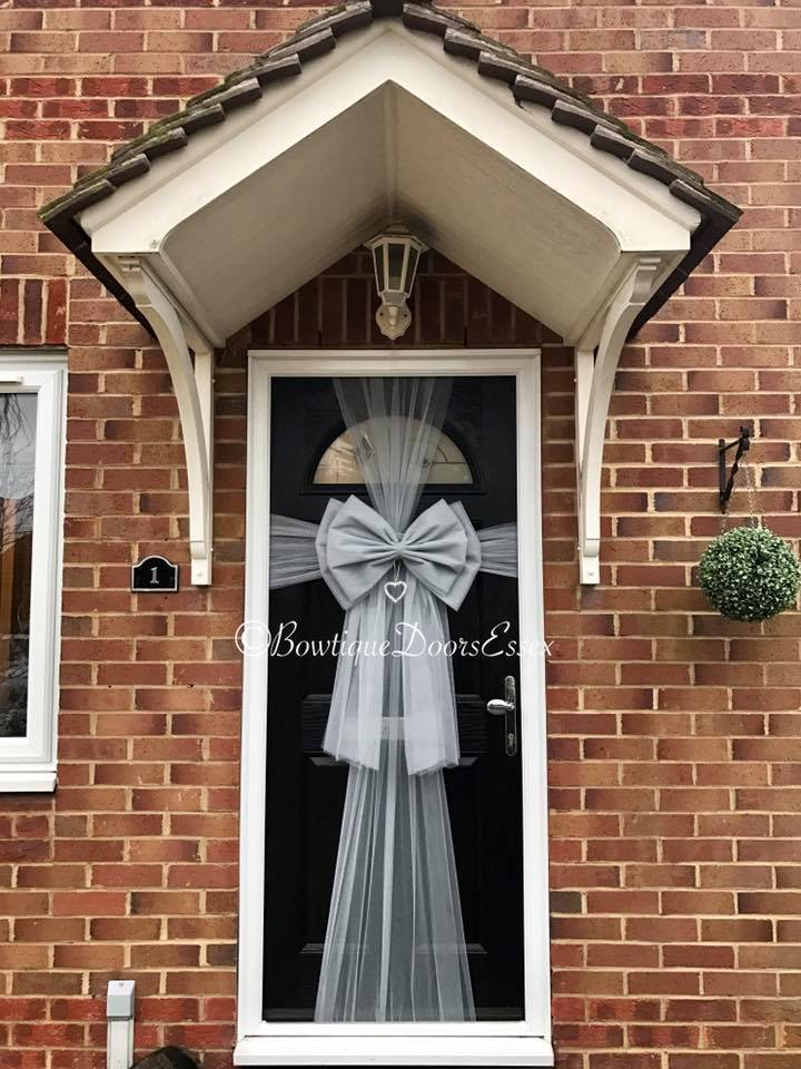 Bowtique Luxury Door Bows Handmade - Available for Christmas Baby Showers Weddings Parties Christenings and for Cars. Not to be mistaken for the ... & Balloon Belles