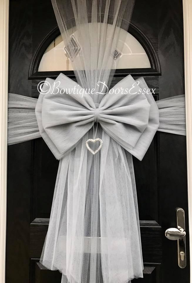 Bowtique Luxury Door Bows Handmade - Available for Christmas Baby Showers Weddings Parties Christenings and for Cars. Not to be mistaken for the ... & Balloon Belles pezcame.com